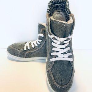 Roxy Woman's Birchfur Faux Fur Lined Sneaker 7